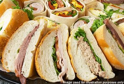 Sandwiches and Wraps Menu